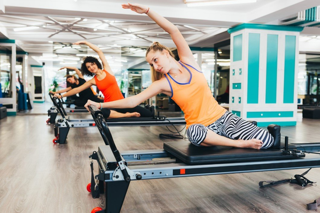 pilates class reformer