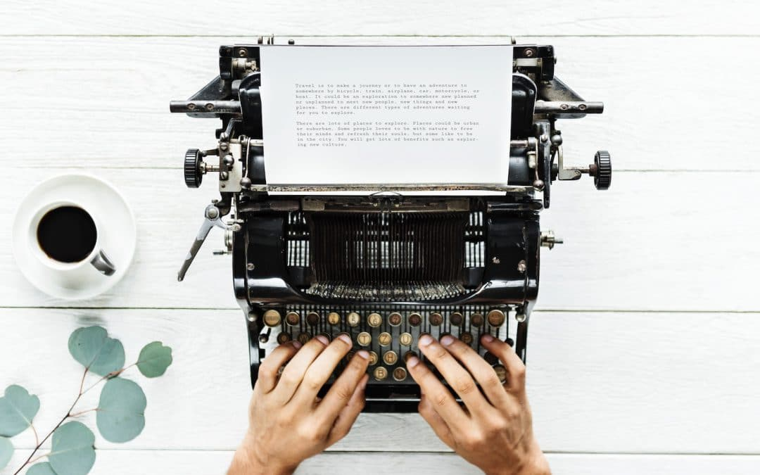 Tips for writing a bio (biography) describing what you teach. Often on front page of your website.
