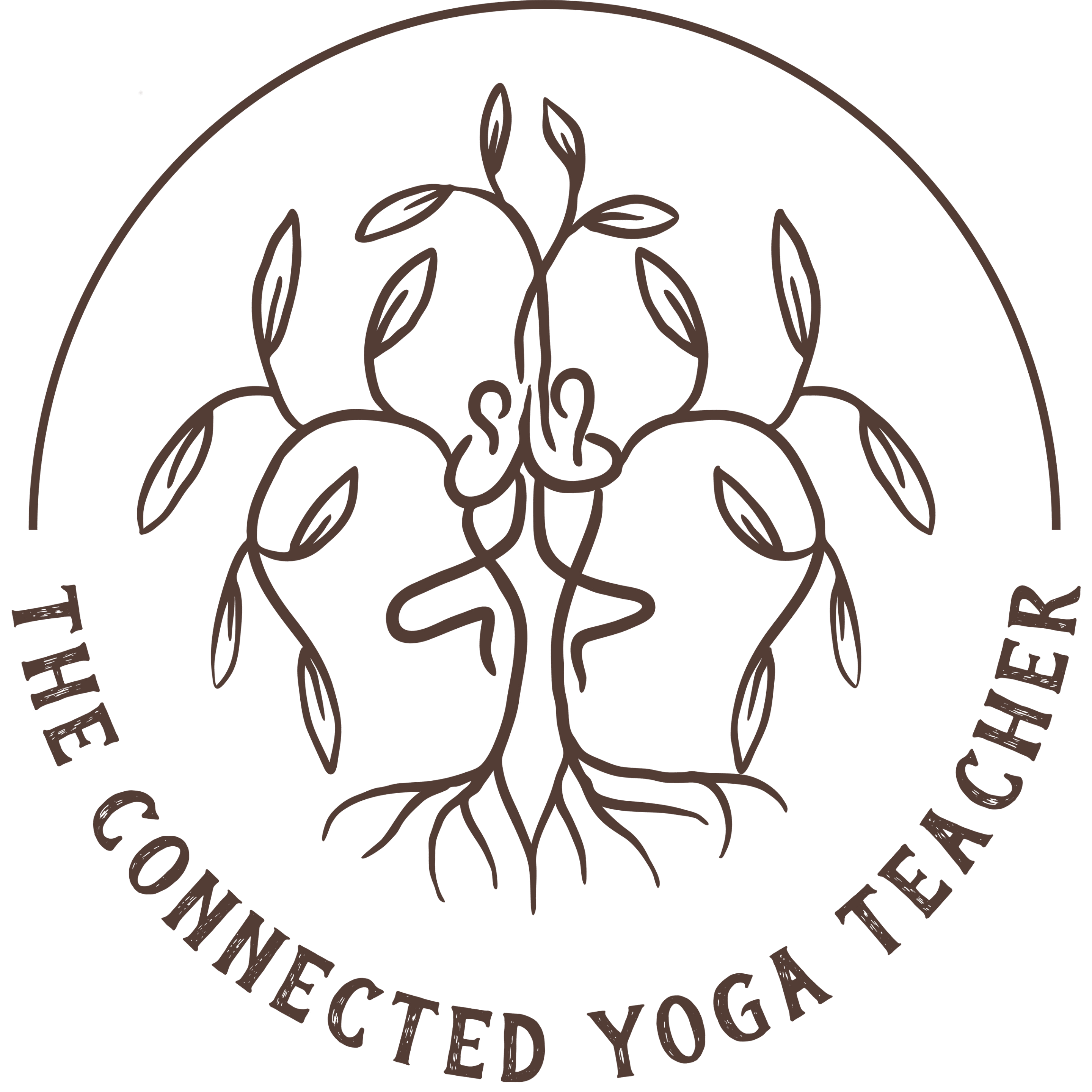 The Connect Yoga Teacher Logo