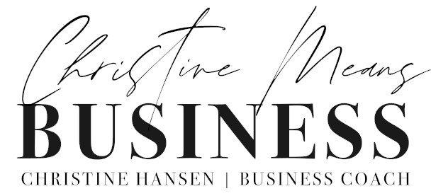 Christine Mean Business